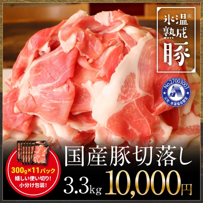010B585 氷温(R)熟成豚 国産豚切