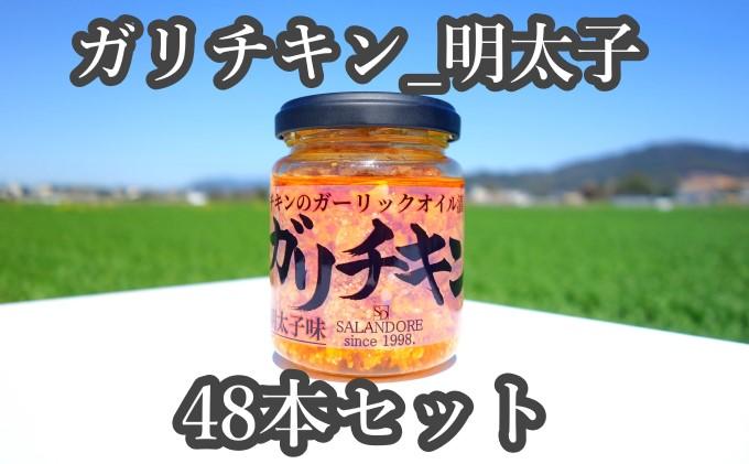 ★48本セット★【ガリチキン-明太子味】チキンのガーリックオイル漬け_明太子味(標準サイズ110g)