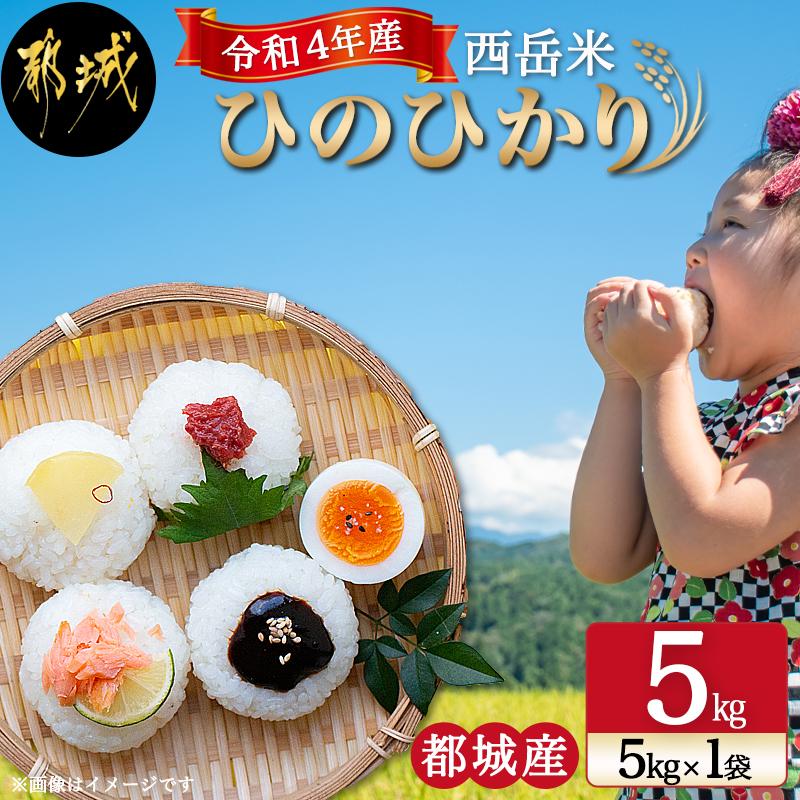 都城産ひのひかり「西岳米」5kg(5kg×