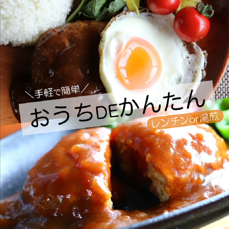 大阪府泉佐野市のふるさと納税 005A271 こがし玉ねぎソースのハンバーグ 計1.4kg(140g×10個)