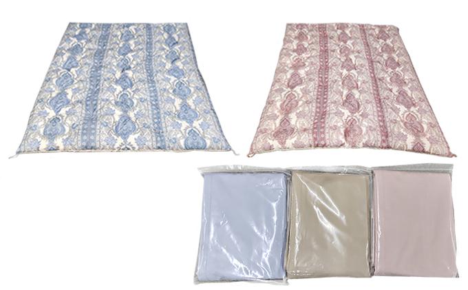 ふとん職人がつくるこだわり手造り綿掛ふとん210丈(カバー付き)