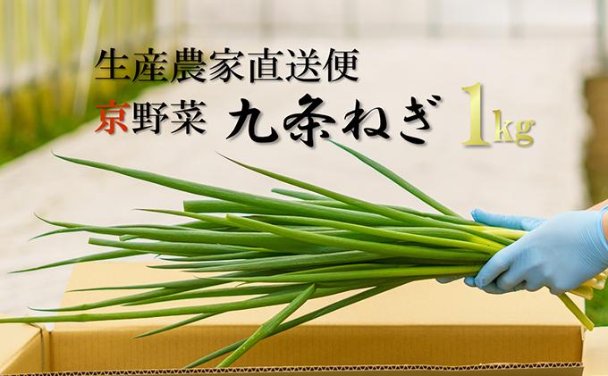 生産農家直送 京野菜・九条ねぎ 約1kg
