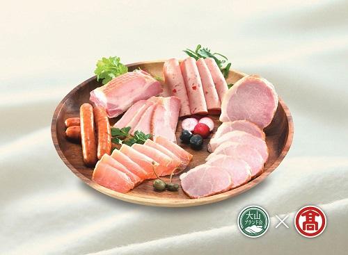 定期便 大山ハム食べ比べ 全3回コース 計13種類(大山ブランド会)高島屋 50-A11 0539