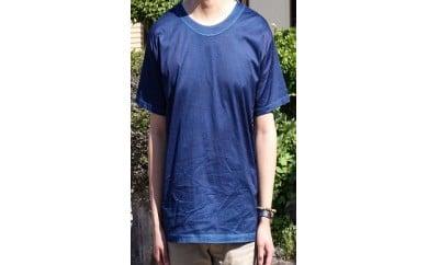 AJ04 松枝家 純正天然藍染めTシャツ