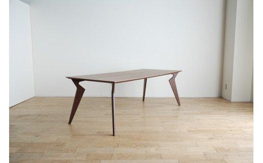 AL229【開梱・設置】ヴォルド テーブル180cm ブラウン