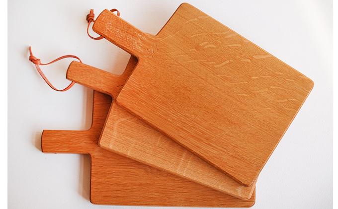 食卓ががらりと変わる 永尾さんのカッティングボード(ナラ)