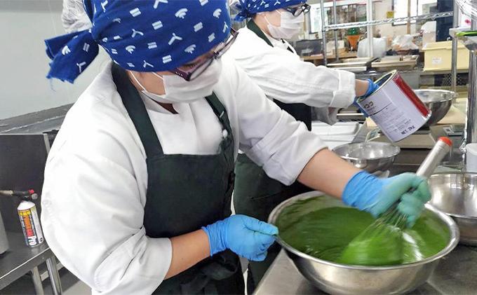 京都府南山城村のふるさと納税 むらちゃプリン抹茶6個セット