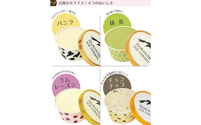 滋賀県米原市のふるさと納税 ミルクファーム伊吹のアイスクリーム9個セット