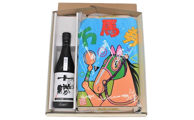 ななつぼし「万馬券」5kgと純米吟醸酒のセット