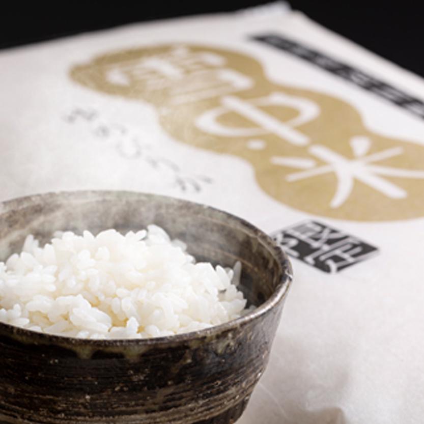 雪中米ゆめぴりか無洗米