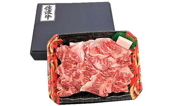【11月数量限定お届け】佐渡和牛切り落し(冷凍)400g