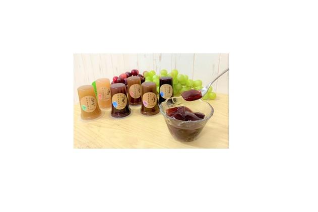 食べるジュースシリーズ 果物そのままゼリー6個セット