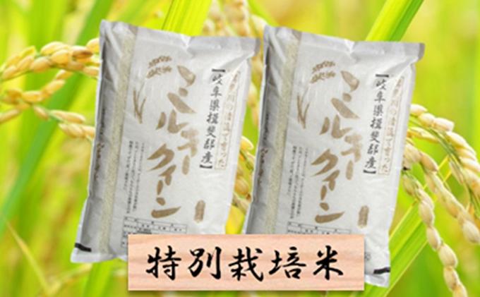 特別栽培米★精米20kg(分搗き可)または玄米22kg【ミルキークイーン】