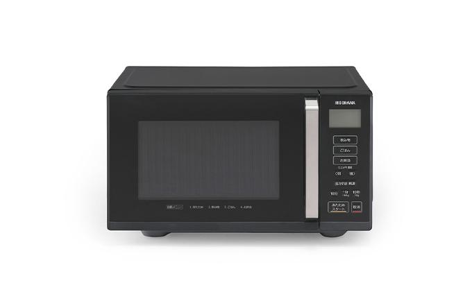 電子レンジ フラットテーブル 単機能22L IMB-F2201-B